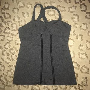 Solow tank with built in bra